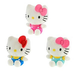 Kotek Hello Kitty 4 kolory - 16cm