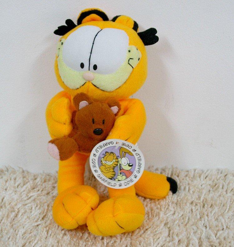 Maskotka Pluszak Kot Garfield I Miś Pooky 25cm Najlepsze Ceny I