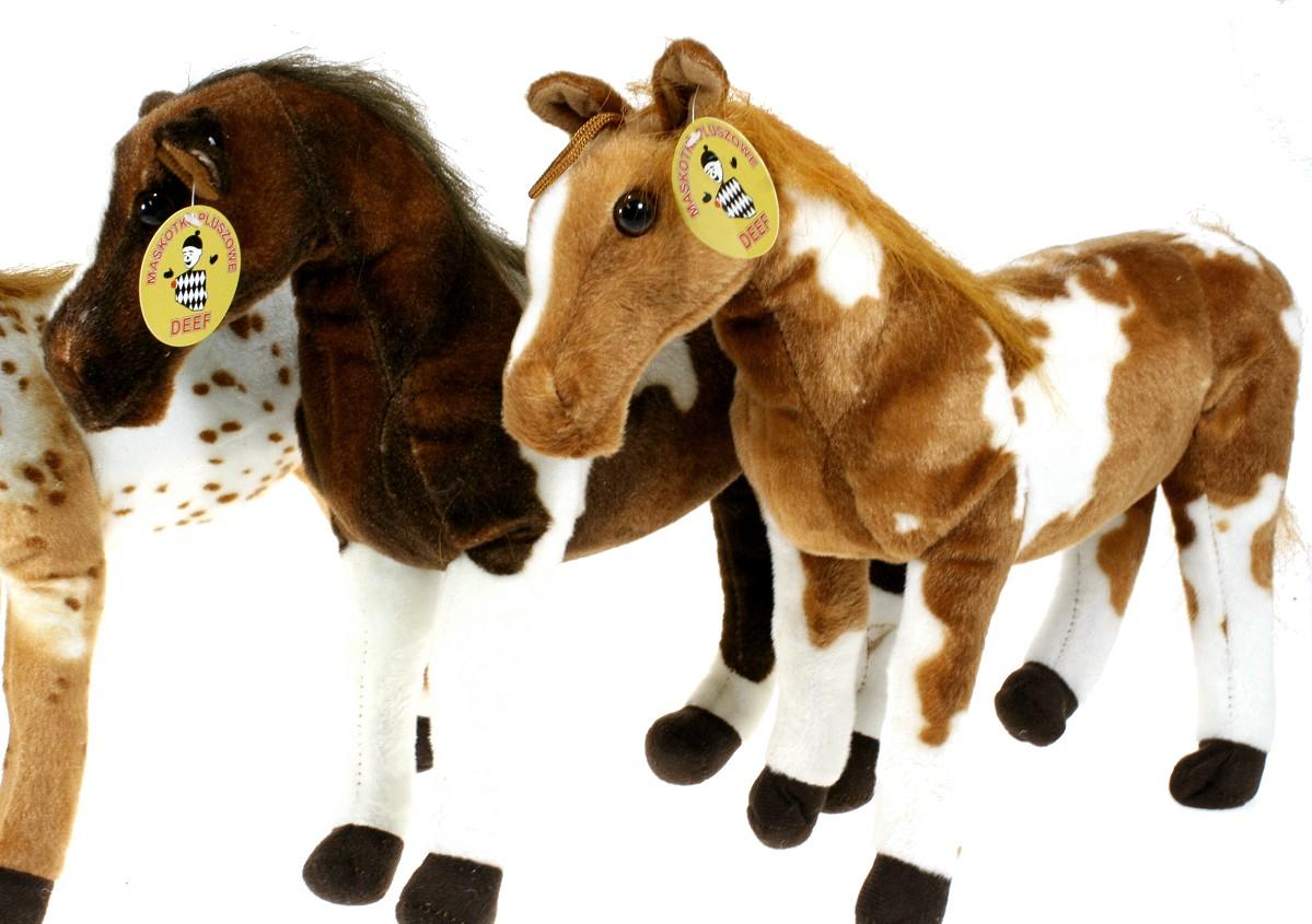 147af64296c51 Maskotka, pluszak Konik koń 3 kolory - 35cm - Najlepsze ceny i ...