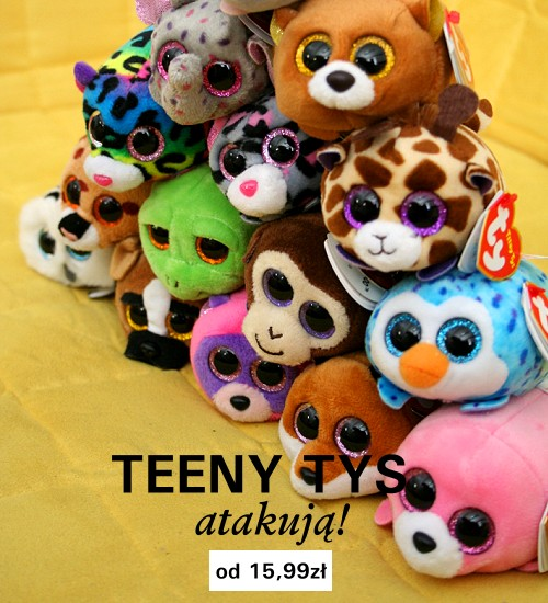 Małe maskotki Ty z kolekcji Teeny Tys