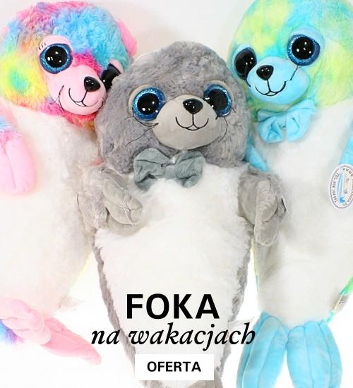 Fokolandia - maskotki foki