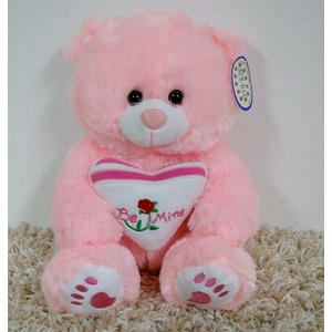 Mi� Be Mine Love Serce R�owy - 25cm