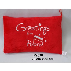 Poduszka Greetings from Poland - 35cm