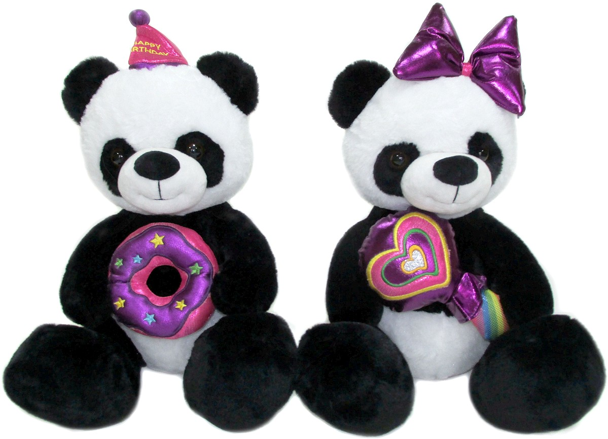 Miś panda Happy Birthday - 33cm