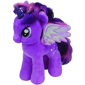 Konik My Little Pony Twilight Sparkle TY - 18cm