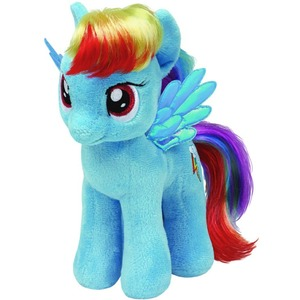 Konik My Little Pony Rainbow Dash TY - 18cm