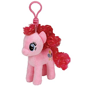Brelok Konik My Little Pony Pinkie Pie TY - 11cm