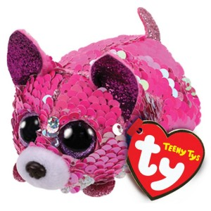 Pies Yappy Chihuahua Flippables Teeny Tys TY - 10cm